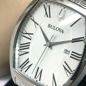 Bulova 96M145 Ambassador Silver Tone Women's Watch